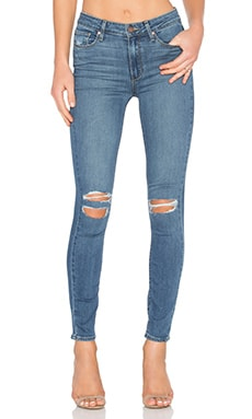 Paige Denim Hoxton Ankle Skinny in Jayla Destructed