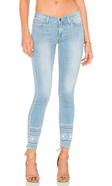 Paige Denim Verdugo Ankle in Indigo Marin Embroidery