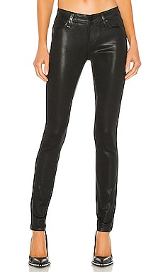 Paige Denim Verdugo Ultra Skinny in Black Fog Luxe Coating