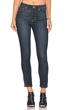 Paige Denim Hoxton Ankle Zip in Seneca