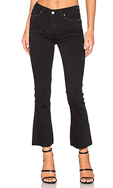 Paige Denim Colette Crop Flare in Vintage Black
