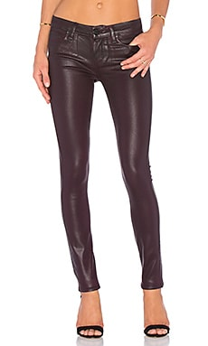 Jean Verdugo Ultra Skinny en Wine Luxe Coating