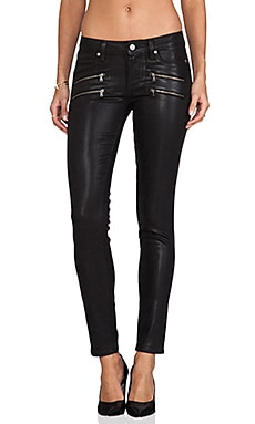 Edgemont Ultra Skinny Silk Coating in Black