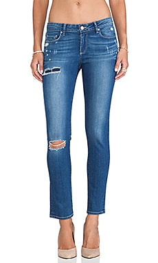 Paige Denim Verdugo Ultra Skinny in Carmen Tear and Repair