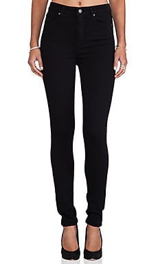 Paige Denim Margot Ultra Skinny in Black Shadow
