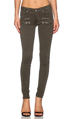 Paige Denim Edgemont Ultra Skinny in Pine Green
