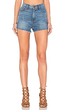 Paige Denim Margot Short in Tay