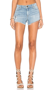 Paige Denim Keira Short in Aviva Destructed