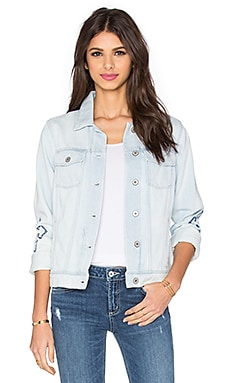 Paige Denim Rowan Jacket in Norway Embroidered