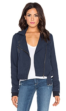 Paige Denim Marjorie Jacket in Dark Ink Blue