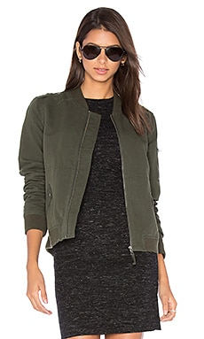 Paige Denim Geena Jacket in Army