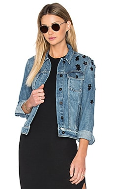 Rowan Denim Jacket in Jupiter Embellished