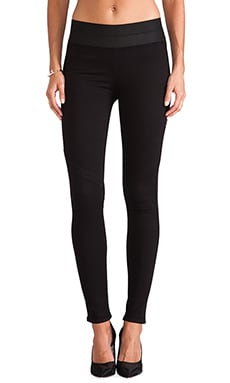 Paige Denim Glam Rock Legging in Black