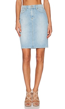 Paige Denim Deirdre Skirt in Loren No Whiskers