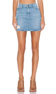 Paige Denim Jimmy Jimmy Skirt in Serena Destructed