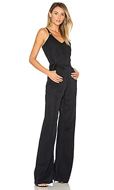 Denim Hazelle Jumpsuit in Black Pearl