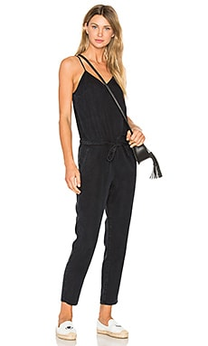 Suki Jumpsuit in Black Pearl
