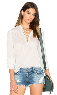 Tansy Top in White