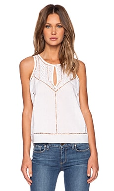 Paige Denim Ginny Tank in White