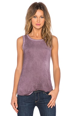 Paige Denim Georgina Tank in Vintage Velvet Plum