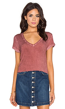 Paige Denim Charlie Tee in Vintage Bruschetta