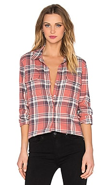 Paige Denim Trudy Button Up in Canyon Rose & Graystone