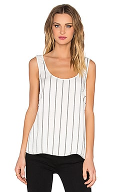 Paige Denim Wilfred Tank in White & Black