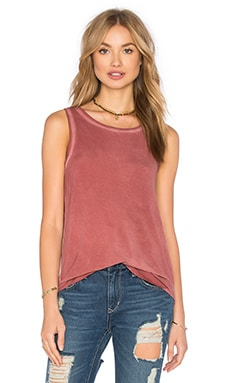 Paige Denim Georgina Tank in Vintage Dusty Cedar