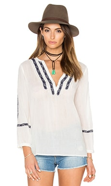 Paige Denim Tess Top in White
