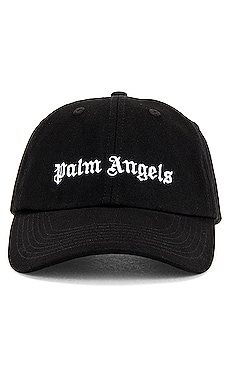 Classic Logo Cap in Black Palm Angels $120 NEW