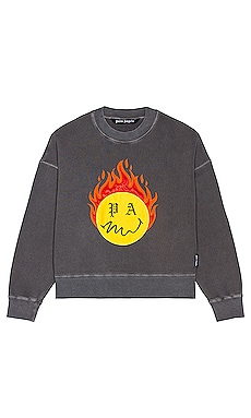 SUDADERA BURNING HEAD Palm Angels $865