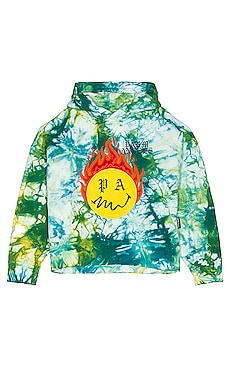 Tie Dye Burning Head Hoodie Palm Angels $1,190