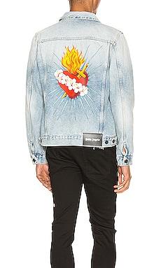 Sacred Heart Denim Jacket Palm Angels $648