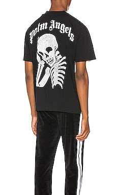 T-SHIRT THINKING SKULL Palm Angels $365