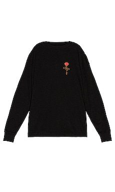 Small Rose Long Sleeve Tee Palm Angels $425