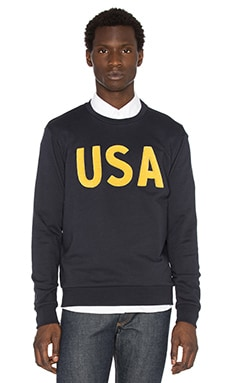 USA Embroidered Crewneck Sweatshirt