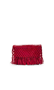 Junin Clutch in Red