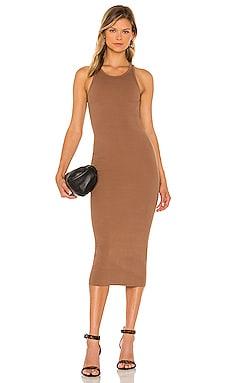 X REVOLVE Rib Tank Midi Dress Pam & Gela $135