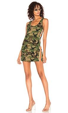 Фото - Платье-майка - Pam & Gela зеленого цвета