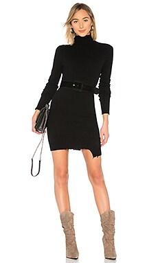 Купить Платье turtleneck - Pam & Gela, Длинные рукава, Китай, Черный