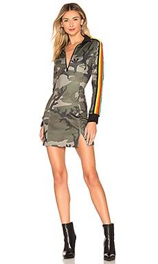 Camo Track Dress Pam & Gela $265 NEW ARRIVAL