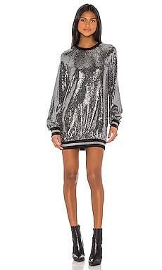 Mirror Ball Slouchy Dress Pam & Gela $275