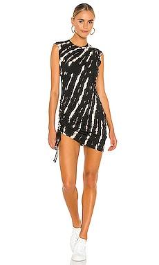 Tie Dye Sleeveless Mini Dress Pam & Gela $145