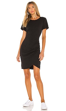 T-Shirt Dress With Wrap Skirt Pam & Gela $134