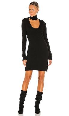 Choker Cutout Neck Dress Pam & Gela $157
