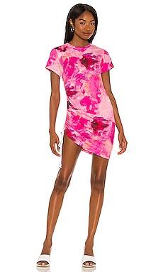 Side Ruched Mini Dress Pam & Gela $145