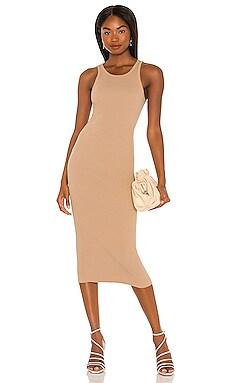 Rib Tank Midi Dress Pam & Gela $135