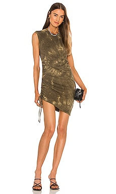Ruched Muscle Dress Pam & Gela $135 NEW
