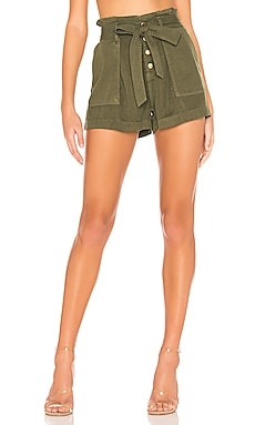Pleat Front Shorts Pam & Gela $69