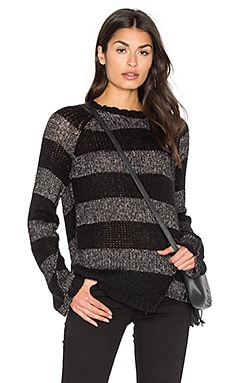 Offset Stripe Sweater